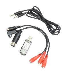 USB Flight Simulator Adapter Cable for Phoenix, AeroFly, FMS & Others