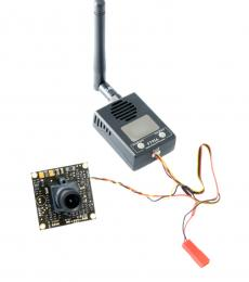 P-N-P FPV Setup CCD Camera and 25mW-800mW Transmitter