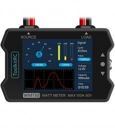 ToolKitRC WM150 150A 50V Watt Meter Power Analyzer
