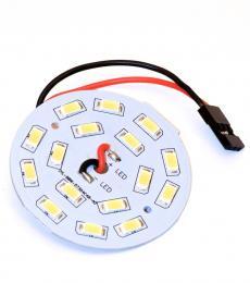 White 16 LED Circular Light Board