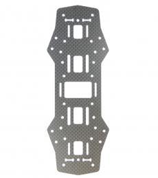 Carbon Fibre Middle Board Spare Part For ZMR / QAV 250 (1.5mm)
