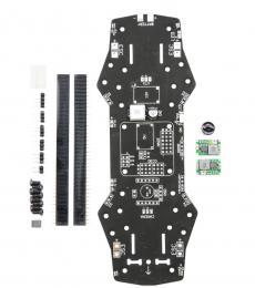 ZMR 250 PDB w/ 5V & 12V BEC, LC Filter, Buzzer - PCB Support for MinimOSD, Naze32 & CC3D