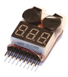 Lipo Alarm - Tester